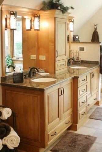 Amazing Bathroom Vanities Design Ideas ☆ See More: Http://glaminati.com