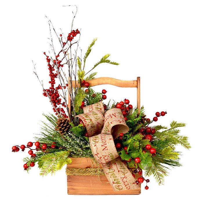 Festive Holiday Basket - Spreading Warmth & Cheer on Joss & Main