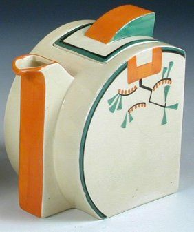 Another beautiful Clarice Cliff piece. It's somewhat southwestern