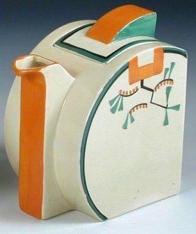 Clarice Cliff Stamford Ravel Teapot