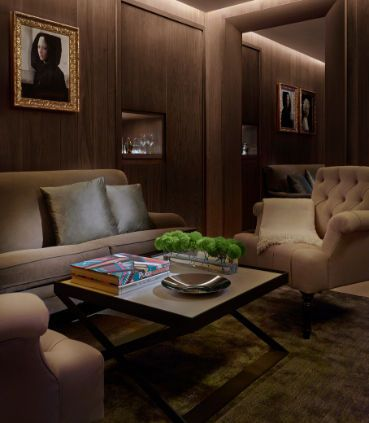 The London EDITION One-Bedroom Suite Living Area