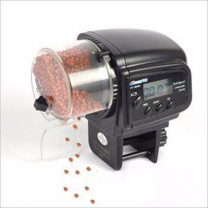 Alimentador Automático para Aquário com temporizador