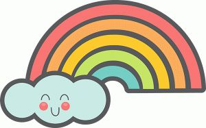 View Design #76935: cute rainbow
