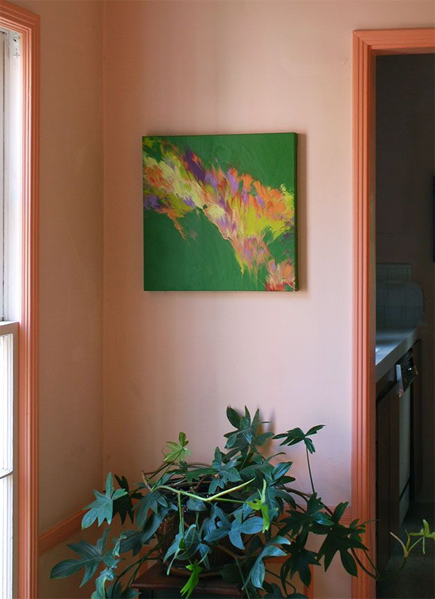 Diy Καταπληκτική σύγχρονη τέχνη από περίσσευματα χρωμάτων5
