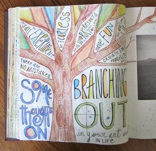 branching out  by Pat Pitingolo, via Flickr: Journal Ideas, Journal Inspiration, Art Inspiration, Journal Art, Art Journals, Art Ideas, Drawing Ideas, Journaling Ideas, Art Journaling