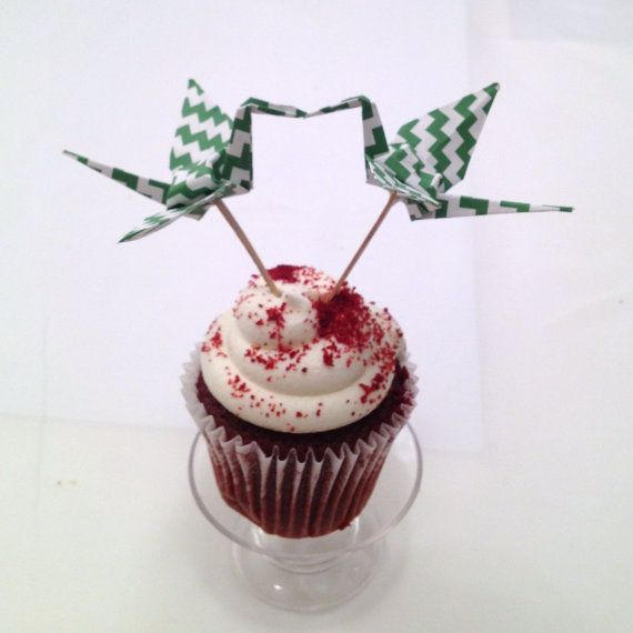 Origami Wedding Cake Topper