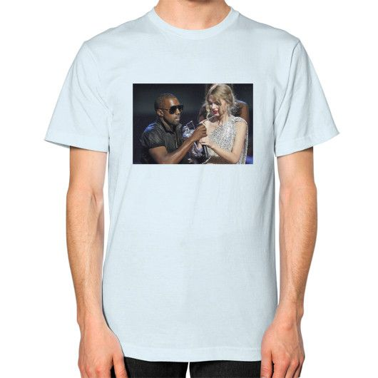 Kanye Taylor Unisex T-Shirt (on man)