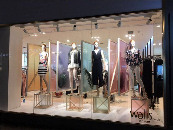 "WALLIS, London, UK, ""What we see depends mainly on what we look for"", photo by Visual Merchandising, pinned by Ton van der Veer"
