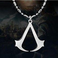 le collier signe de croyance pendentif en alliage de assassin européen (1 pc)