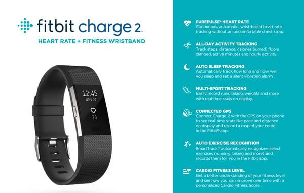 Fitbit Charge 2 Fact Sheet