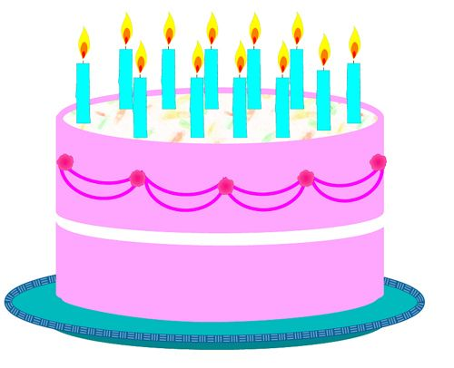 Birthday Cake Clip Art birthday cake pictures clip art ...