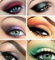 Luxusné líčenie pre hnedé oči • Akadémia Krásy