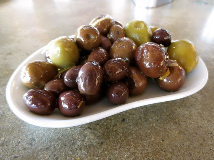 ... Continental on Pinterest | Olive bar, Marinated olives and Glass flask