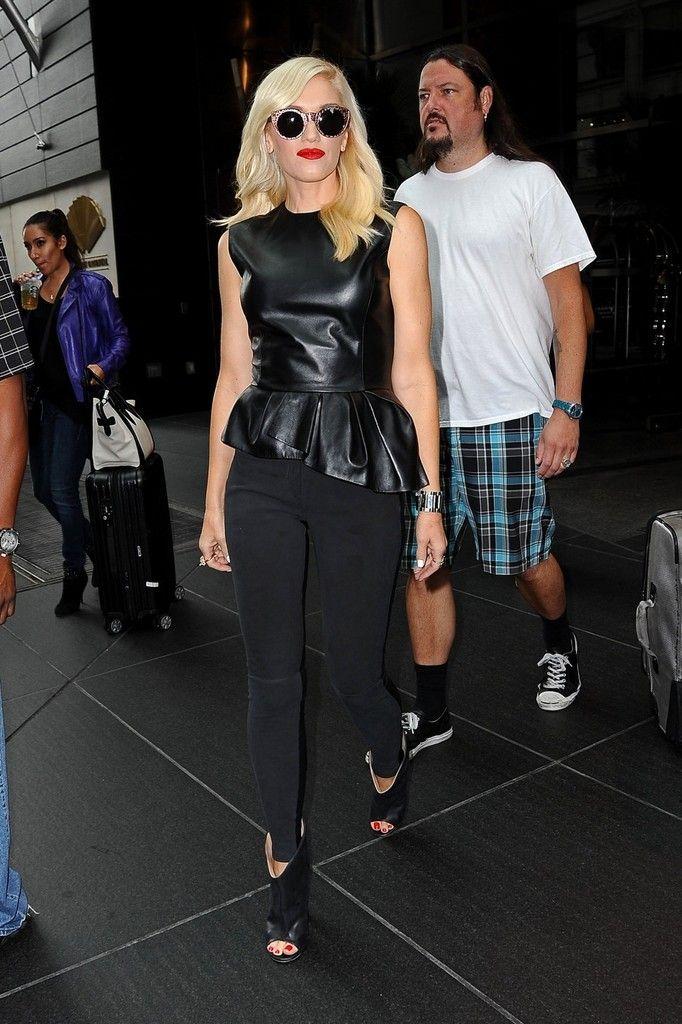 Gwen Stefani Photos - Gwen Stefani and Tony Kanal in NYC - Zimbio