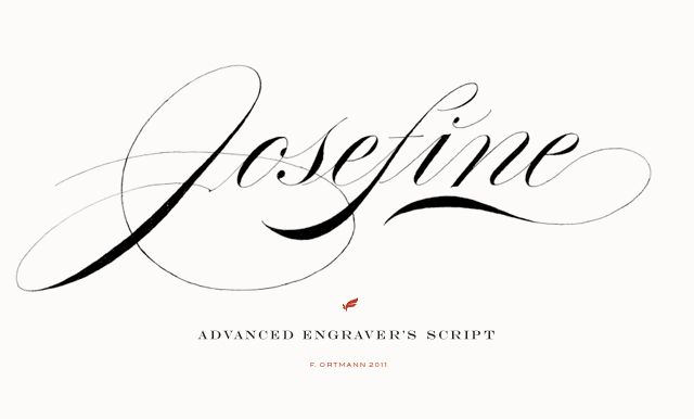 Pointed pen script letters by Frank OrtmannJosefin, Typography Stuff, Hands Letters, Frank Ortmann, Pens Scripts, Scripts Letters