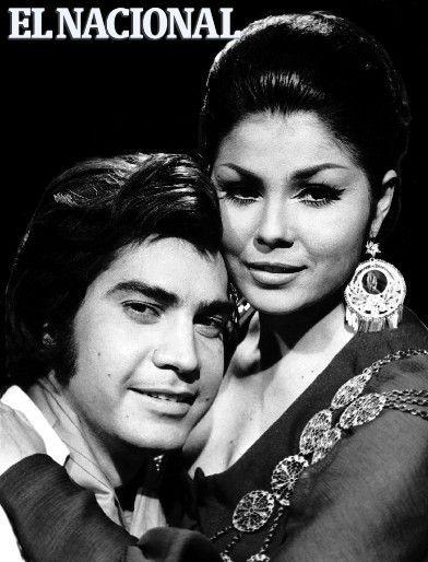 Lila Morillo junto a José Luis Rodríguez. Caracas, 04-01-1970 (ARCHIVO EL NACIONAL)