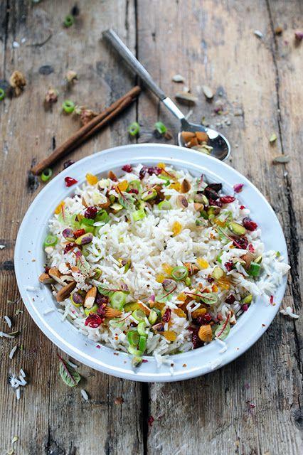 Mon p'tit riz indien très parfumé à plein de choses !