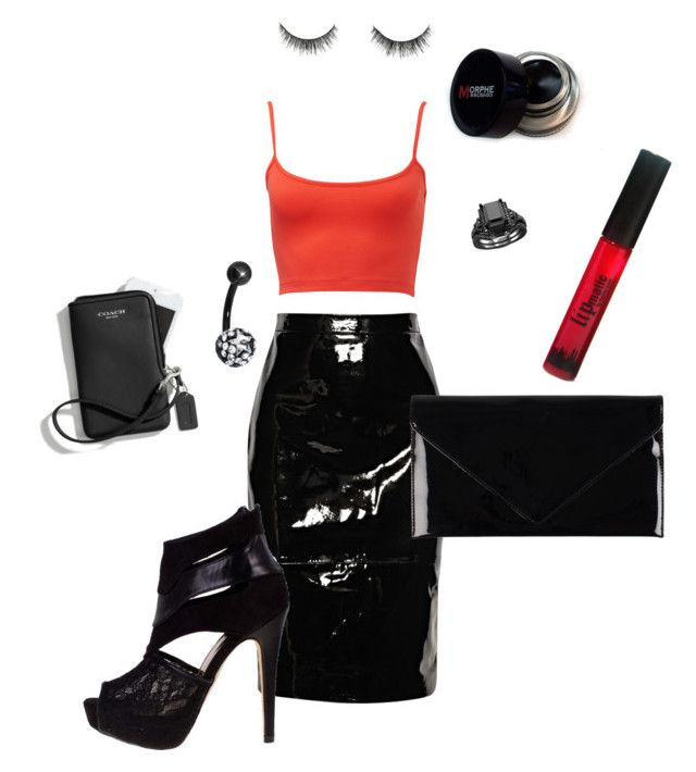 Sex bomb 2 by shylastylez on Polyvore featuring polyvore, fashion, style, Givenchy, Dolcis, Pieces and Coach