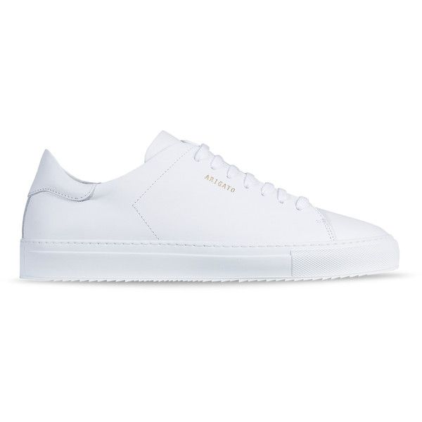 AXEL ARIGATO - Handcrafted Designer Sneakers for Men and Women. (735 BRL) ❤ liked on Polyvore featuring men's fashion, men's shoes, men's sneakers, mens white sneakers, mens leather sneakers, mens white shoes, mens white leather sneakers and mens leather shoes