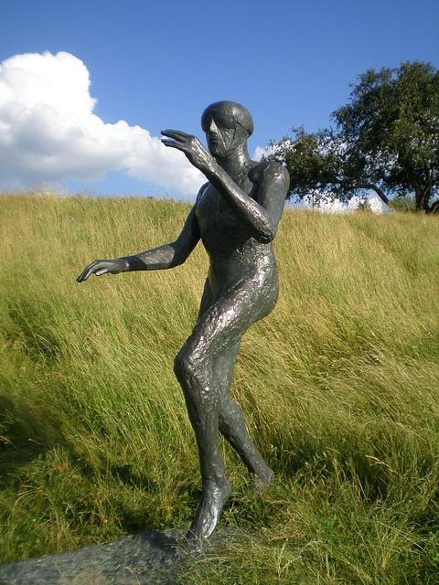 Dame Elizabeth Frink 1982 'Flying Men', Odette Assumption Sculpture Park, Windsor, Canada by hanneorla, via Flickr