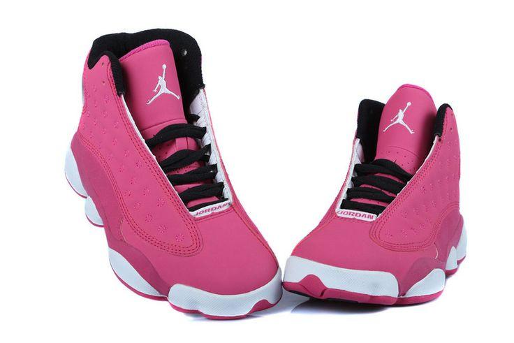 new york b3796 7f345 ... Air Jordan 13 femme chaussures sport GS nouveau mode discount Pink.jpg  (800× ...
