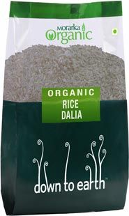 Rice Dalia has a high water content and is easily digested. Rice Dalia is rich in iron and vitamin B complex and is a good source of healthy carbohydrates. This organic rice dalia is high in protein, dietary fiber, carbohydrates. As it is bland in taste, it can be used to make both sweets and savory dishes.http://www.exoticabazaar.com/view/6366-125-rice-dalia.html