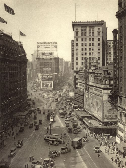 Times Square 1920s