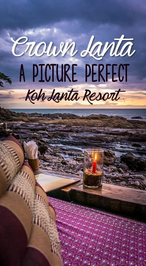 Crown Lanta is one of those Koh Lanta resorts perfect for treating yourself on an easygoing tropical island.   Tieland to Thailand