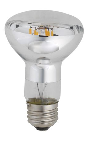 Product Description Item #42057KODAK LED R63 Lamps provide a 160 degree beam angle. These lamps continue the more than 100 years of tradition of prefering incandescent bulbs. Delivering incandescent-like sparkling light effects, KODAK LED bulbs are ideal for general and decorative lighting in the hospitality industry, as well as home environments.  This product dims best withLutron Diva Electronic Dimmer Part No. DVELV-300P. Features   30,000 hrs rated life  Dimmable 2700K True 60W…