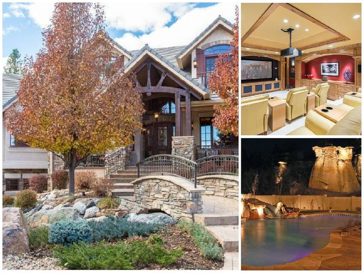 Listing Price: $2,480,000. Location: 7610 Winding Oaks Dr, Colorado Springs, CO 80919.  Size: 4 beds, 6 baths, 10,360 sq ft. School District: 20-Academy