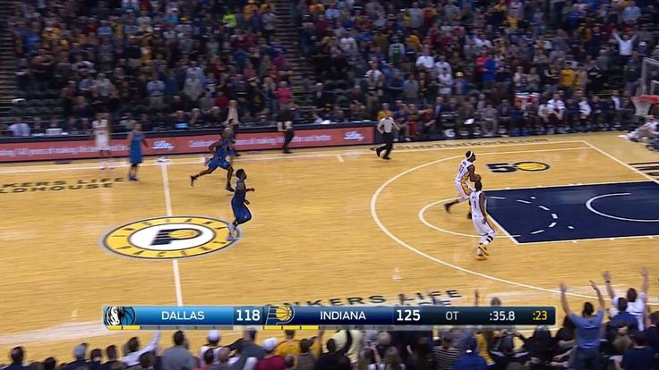 Myles Turner caps off a Indiana Pacers' victory with a thunderous slam on the break!