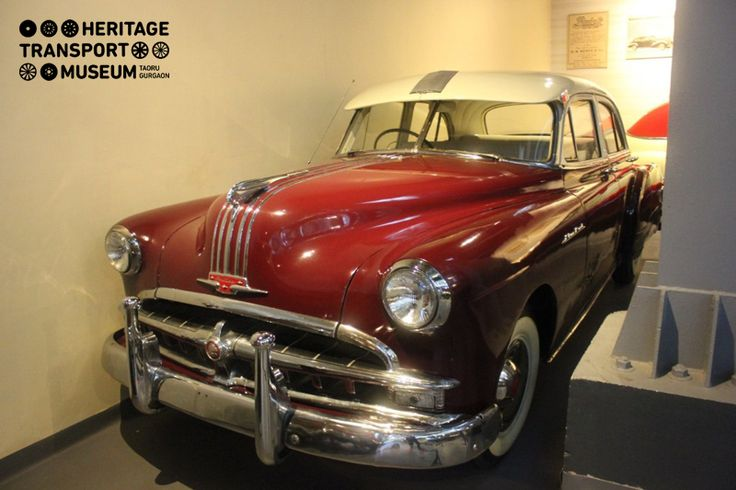 Take a look at this striking Pontiac Silver Streak Sedan of 1949! The car had an engine options of 6 and 8 cylinders and featured a body on 120 inch wheelbase.