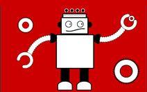 Jogos de pintar online para crianças: Robô