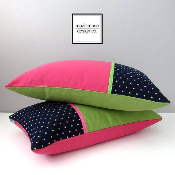 Modern Green Pillow Cover : 18 best images about Red Burgundy & Wine - Modern Pillows by Mazizmuse Design Co on Pinterest