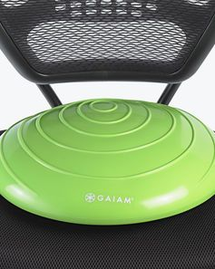 Balance Disc for office chairs. Tim this would help your back.