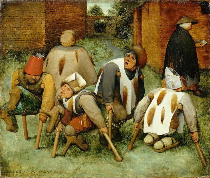 Peter Brueghel the Elder - The Beggars [1568]