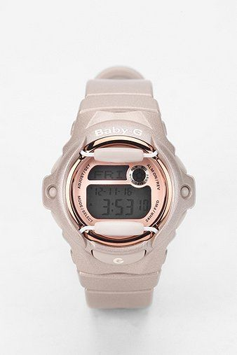 G-Shock Baby G Pink Champagne Watch