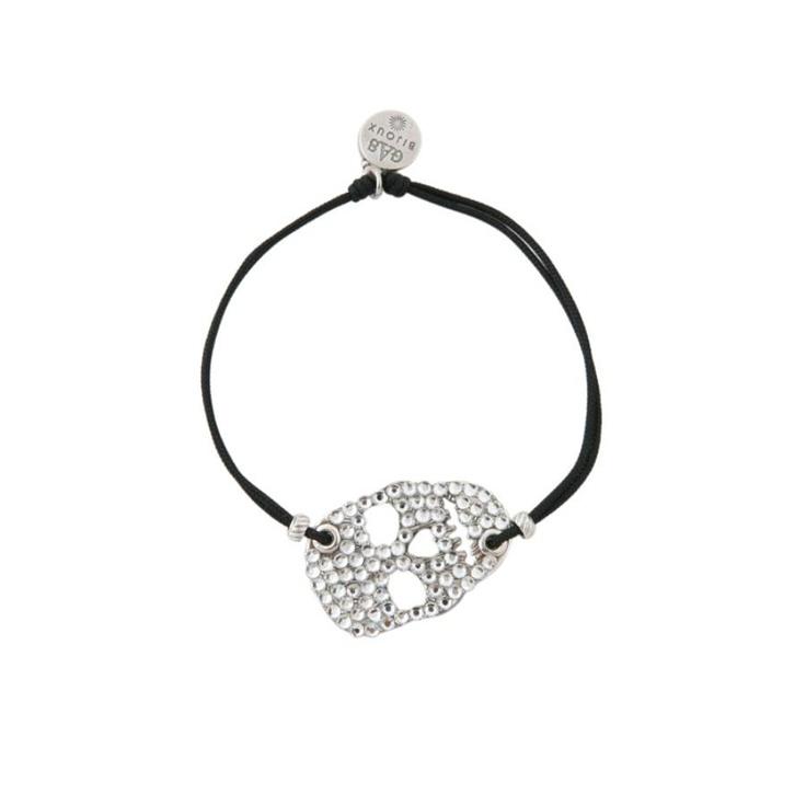 Bracelet Jack argent Noir
