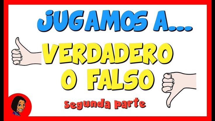 Jugamos a Verdadero o Falso   Segunda parte_Eugenia Romero www.maestrosdeaudicionylenguaje.com