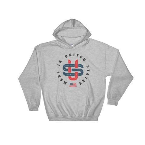Vintage America Hooded Sweatshirt