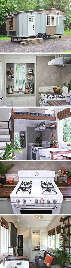 The Handcrafted movement tiny house
