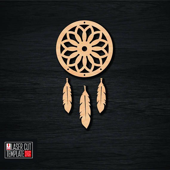 Dreamcatcher laser cut template, cnc cutting file, cut template pattern, cut template pattern, cut template pattern, cnc cut file, cnc router plans Vector layout for cnc machine. Laser models for cutting.