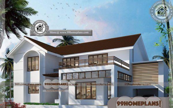 Architect House Plans for Sale 60+ 3D Double Storey House Plans