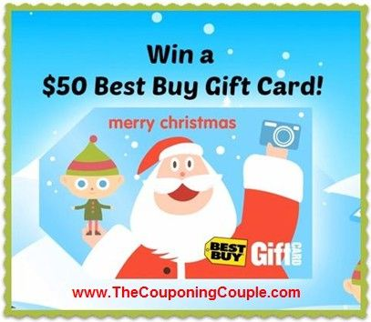 ***GIVEAWAY TIME AGAIN ~ We are Gearing up for the Holiday Season*** Who wants to win a $50 Best Buy Gift Card? We are giving away one to 1 Lucky reader!  How to ENTER:  1. Visit here to enter via a Rafflecopter Entry form (you must do this to be entered) ► http://www.thecouponingcouple.com/best-buy-gift-card-giveaway-win-a-50-best-buy-gift-card/  AND THEN Please help us out by Sharing this with your friends and family!  #ExtremeCouponing #Coupons #Couponing #sweeps
