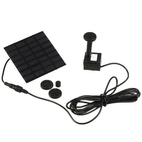 Weanas® Solar Powered Water Pump Brushless Submersible Pump Motor Solar Energy Garden Fountain Pond Plants Pool (Mini Pond 7V/1.12W No Storage Battery)  http://www.amazon.com/dp/B00KBL6ZX4/ref=cm_sw_r_pi_dp_tLxyub0H2J9WP