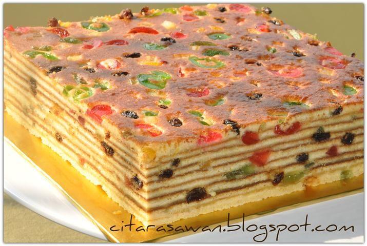 Kek Lapis Moscovis ~ Resepi Terbaik