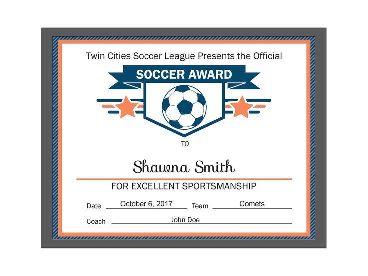 Best Diy Editable Certificates Images On   Award