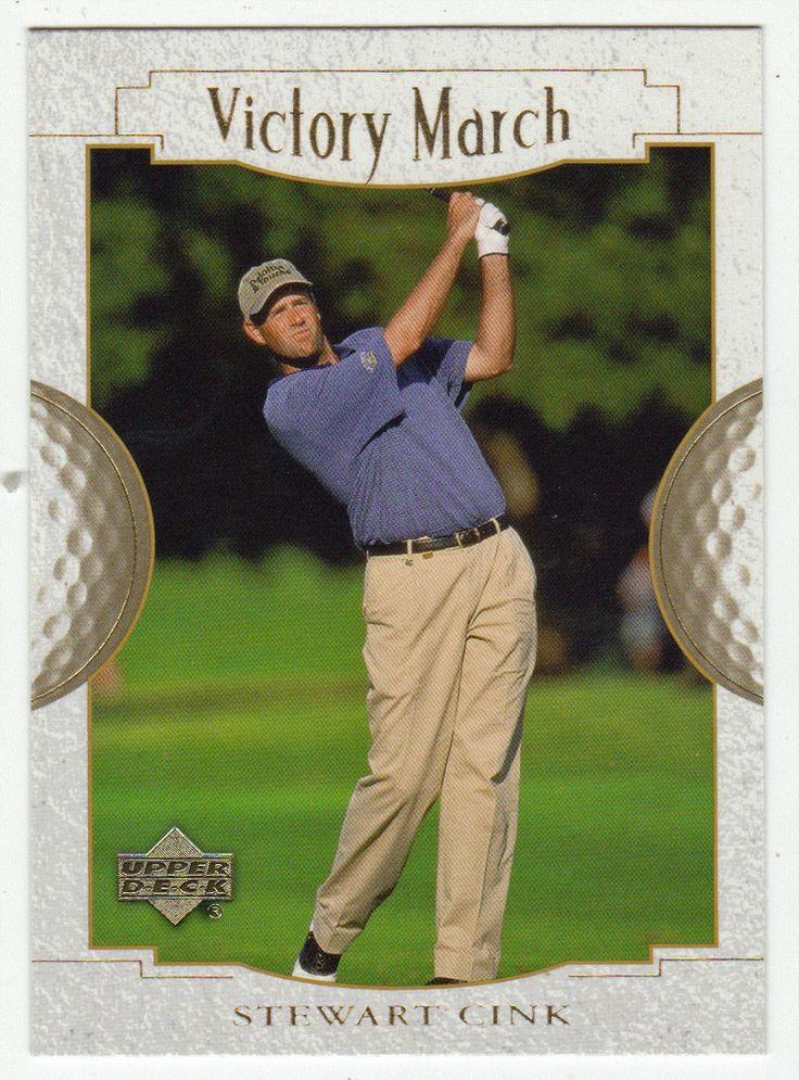 Stewart Cink # 158 - 2001 Upper Deck Golf