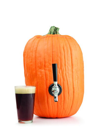 How to carve a pumpkin keg. Why? because you can. hahaha
