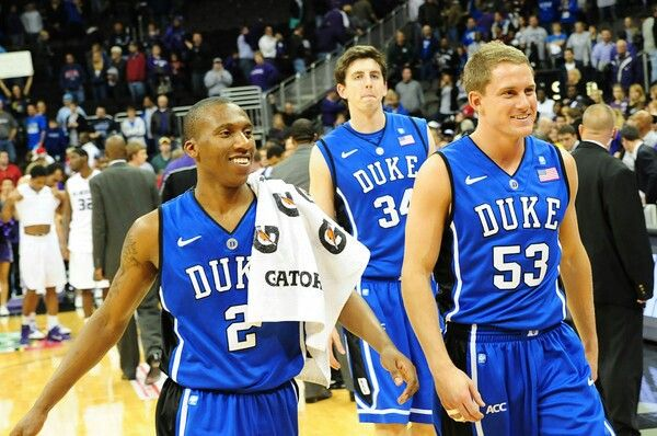 Nolan Smith,  Ryan Kelly and Casey Peters